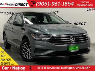 Used 2019 Volkswagen Jetta Highline| LEATHER| SUNROOF| BLIND SPOT DETECTION| for sale in Burlington, ON