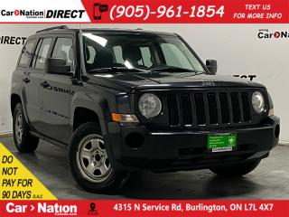 Used 2010 Jeep Patriot Sport| AS-TRADED| ONE PRICE INTEGRITY| for sale in Burlington, ON