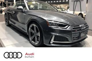Used 2019 Audi S5 3.0T Technik + Sport Diff   CarPlay   Blind Spot for sale in Whitby, ON