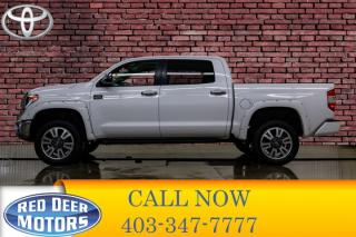 Used 2019 Toyota Tundra 4x4 Crew Cab Platinum 1794 Edition for sale in Red Deer, AB
