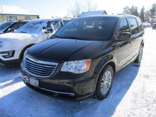 Used 2013 Chrysler Town & Country FAMILY MOVING TOURING EDITION 7 PASSENGER 3.6L - V6.. CAPTAINS.. STOW-N-GO.. LEATHER.. HEATED SEATS.. POWER DOORS & WINDOWS.. BACK-UP CAMERA.. for sale in Bradford, ON