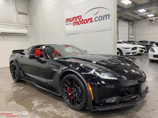 Used 2017 Chevrolet Corvette Z07 Performance Package Glass Roof 3LZ for sale in St. George Brant, ON