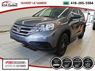 Used 2012 Honda CR-V LX* AWD* CAMERA* SIEGES CHAUFFANTS* for sale in Québec, QC