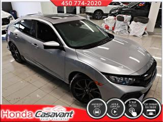 Used 2017 Honda Civic HB SPORT - GROUPE HONDA SENSING for sale in St-Hyacinthe, QC