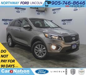 Used 2018 Kia Sorento LX | AWD | HTD SEATS | BACK UP CAM | KEYLESS ENTRY for sale in Brantford, ON