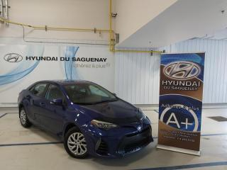 Used 2017 Toyota Corolla AC/CAMÉRA DE RECUL/MIROIRS CHAUFFANTS, S for sale in Jonquière, QC