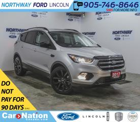 Used 2017 Ford Escape SE | AWD | NAV | HTD SEATS | BACKUP CAM | SPORT | for sale in Brantford, ON