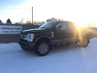 Used 2017 Ford F-350 Super Duty SRW King Ranch for sale in Roblin, MB