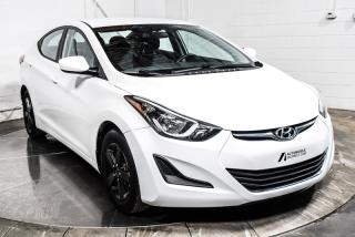 Used 2016 Hyundai Elantra A/C GROUPE ELECTRIQUE for sale in St-Hubert, QC