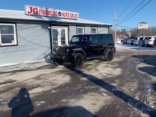 Used 2017 Jeep Wrangler Wrangler sport unlimited for sale in Millbrook, NS