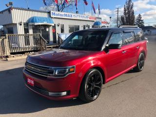 Used 2016 Ford Flex Limited- AWD-Accident Free for sale in Stoney Creek, ON