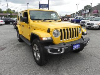 Used 2019 Jeep Wrangler UNL SAHARA for sale in Windsor, ON