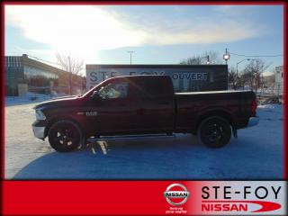 Used 2017 RAM 1500 RAM 1500 Crew Outdoorsman 42500 KM ! for sale in Ste-Foy, QC