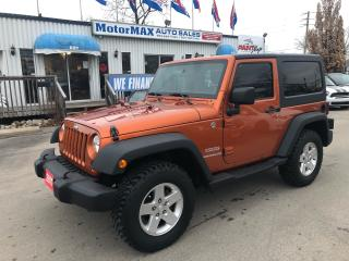 Used 2011 Jeep Wrangler Sport- 4WD- Accident Free for sale in Stoney Creek, ON