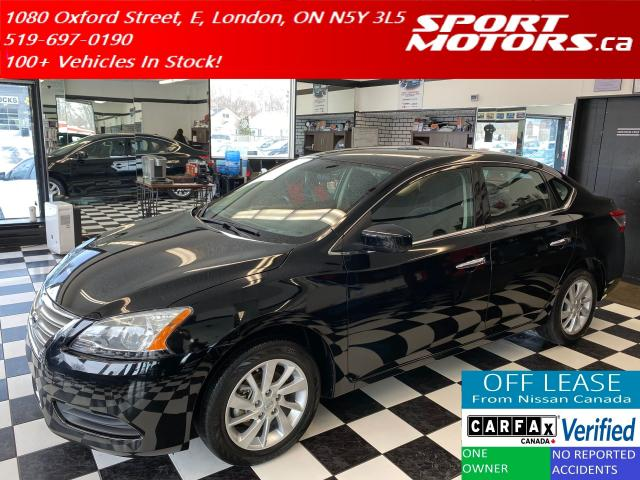 2015 Nissan Sentra SV+Camera+Bluetooth+Heated Seats+XM Radio
