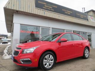 Used 2016 Chevrolet Cruze LIMITED LT1, BACK UP CAMERA,BLUETOOTH,FOG LIGHTS,A for sale in Mississauga, ON