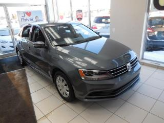 Used 2016 Volkswagen Jetta 1.4T Trendline + AUTO A/C BT CRUISE CAMÉ for sale in Dorval, QC