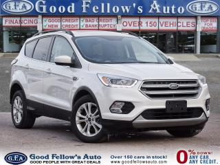 Used 2017 Ford Escape SE MODEL, 4WD, REARVIEW CAMERA, NAVI, PANROOF for sale in Toronto, ON