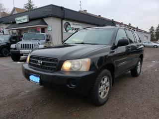 Used 2002 Toyota Highlander LIMITED  for sale in Bloomingdale, ON