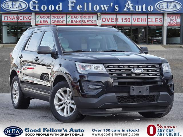 2016 Ford Explorer 2.3L ECO, 4WD, 7 PASS, REARVIEW CAMERA, POWER SEAT