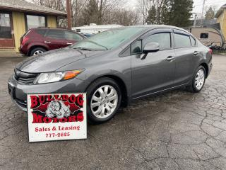 Used 2012 Honda Civic EX for sale in Glencoe, ON