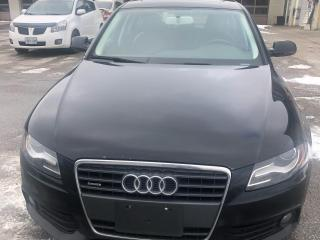 Used 2010 Audi A4 4dr Sdn Man quattro 2.0T for sale in Caledon, ON