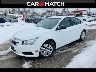 Used 2013 Chevrolet Cruze LS / AC / POWER GROUP / for sale in Cambridge, ON