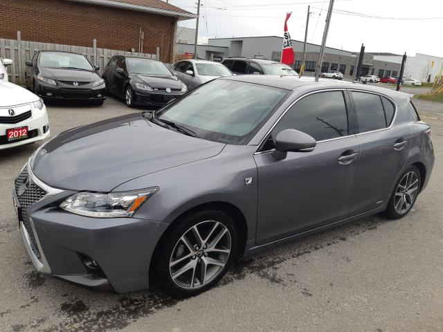2016 Lexus CT 200h FSPORT, NAV,BACKUP, BLUETOOTH, 110 KM