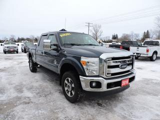 Used 2016 Ford F-250 Lariat. Diesel. 4X4. Leather. Navigation. Sunroof for sale in Gorrie, ON