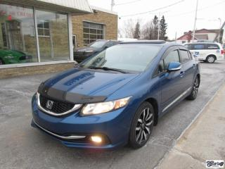 Used 2013 Honda Civic Touring  PNEUS NEUFS for sale in Varennes, QC