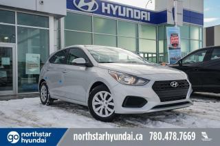 New 2020 Hyundai Accent ESSENTIAL:BLUETOOTH/AC/STEERING WHEEL CONTROLS for sale in Edmonton, AB