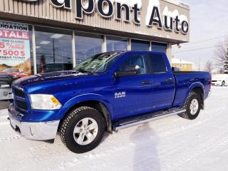 Used 2016 RAM 1500 Cabine quad 4RM, 140,5 po Outdoorsman for sale in Alma, QC