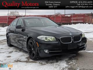 Used 2011 BMW 5 Series 535i for sale in Etobicoke, ON