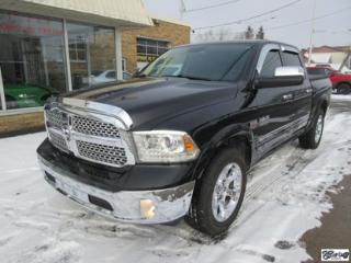 Used 2014 RAM 1500 CREWCAB Laramie for sale in Varennes, QC