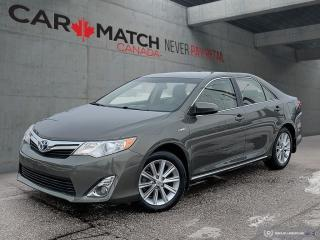 Used 2014 Toyota Camry XLE / HYBRID / HEATED SEATS for sale in Cambridge, ON