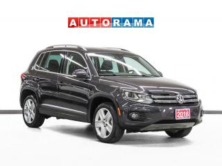Used 2016 Volkswagen Tiguan Comfortline 4WD Leather PanoRoof Bcam CarplayAAuto for sale in Toronto, ON