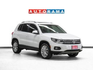 Used 2016 Volkswagen Tiguan Highline 4WD Nav Leather PanoRoof Backup Cam for sale in Toronto, ON