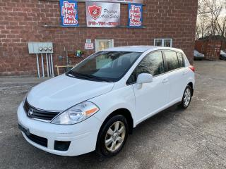 Used 2012 Nissan Versa 1.8 SL/6 SPEED/NAVIGATION/REDUCED/SAFETY INCLUDED for sale in Cambridge, ON