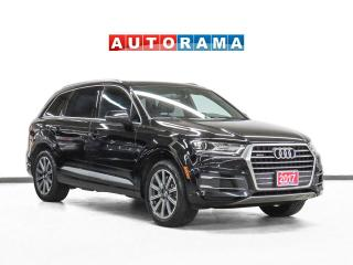 Used 2017 Audi Q7 Komfort 4WD Nav Leather PanoRoof Backup Cam 7Pass for sale in Toronto, ON