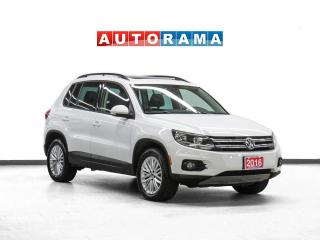 Used 2016 Volkswagen Tiguan Special Edition 4WD Navigation PanoRoof Bcam for sale in Toronto, ON