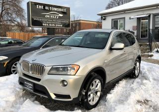 Used 2012 BMW X3 28i AWD CERTIFIED LOADED NAVI PANO NO ACCIDENT for sale in Mississauga, ON