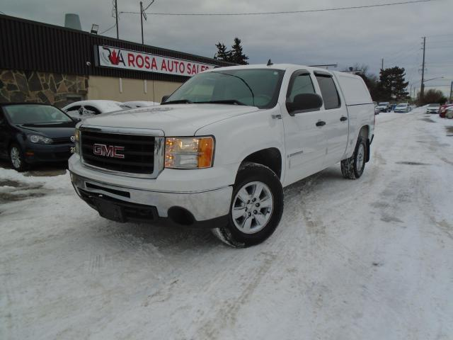 "2009 GMC Sierra 1500 4WD Crew Cab 143.5"" Hybrid GAS SAVER LOW KM"