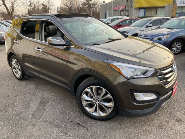 2014 Hyundai Santa Fe Sport SE/ AWD/ LEATHER/ PANO ROOF/ REVERSE CAM/ ALLOYS +