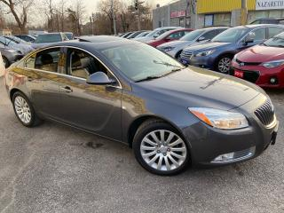Used 2011 Buick Regal CX-L/ LEATHER/ SUNROOF/ ALLOYS/ BLUETOOTH/ LOADED! for sale in Scarborough, ON
