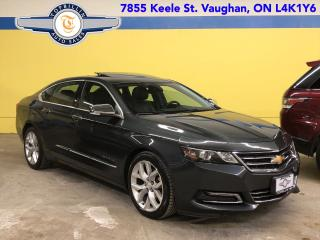 Used 2014 Chevrolet Impala LTZ, Navi, Pano Roof, Blind spot, B Cam for sale in Vaughan, ON