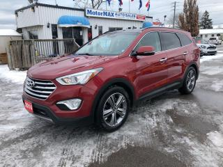 Used 2014 Hyundai Santa Fe XL Limited-Awd-7Pass-Navi-Accident Free for sale in Stoney Creek, ON