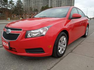 Used 2014 Chevrolet Cruze 1LT-EXTRA CLEAN-BLUETOOTH-AUX-USB-ALLOYS for sale in Scarborough, ON