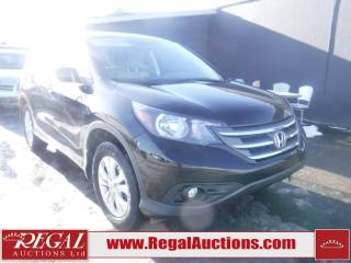 Used 2012 Honda CR-V EX 4D UTILITY 4WD for sale in Calgary, AB