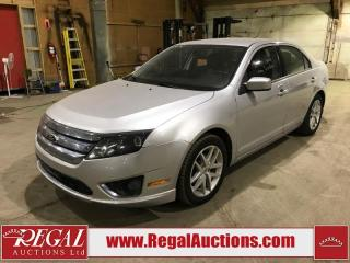 Used 2012 Ford Fusion SEL 4D Sedan AWD for sale in Calgary, AB