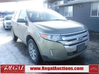 Used 2013 Ford Edge SEL 4D Utility 4WD for sale in Calgary, AB